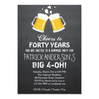 Shop Zazzle's selection of 40th birthday invitations for your party!