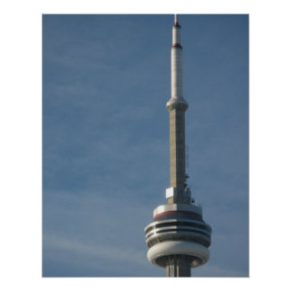 42 percent of cn tower poster