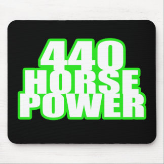 440 hemi green charger mouse pad