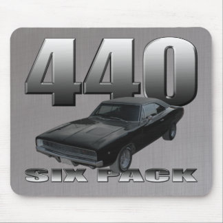 440 six pack dodge charger mouse pad