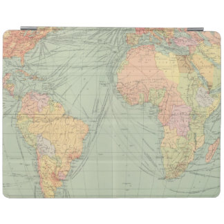 45 lines of communication, Atlantic Ocean iPad Cover