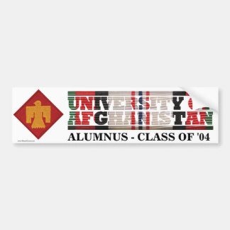 45th Infantry BCT U of Afghanistan Sticker