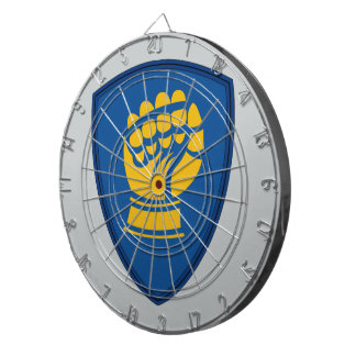 46th Infantry Division - Iron Fist Division Dartboard