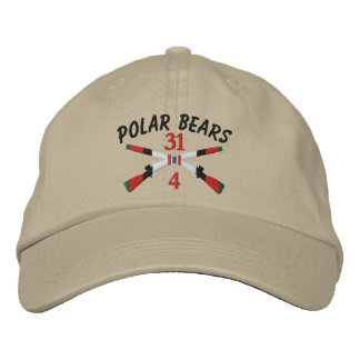 4-31st Infantry Afghanistan Crossed Rifles Embroidered Hat