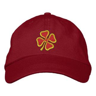 4-leaf Clover Embroidered Baseball Cap
