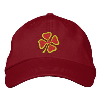 4-leaf Clover Embroidered Baseball Caps