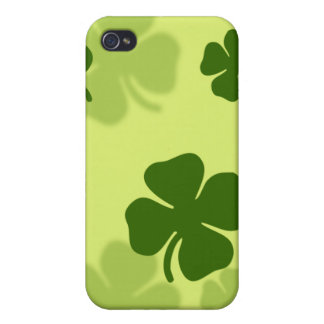 4 Leaf Clover iPhone 4 Case