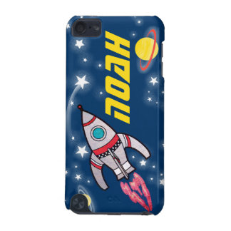 4 letter named space rocket blue yellow iPod touch 5G cases