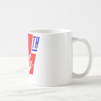 4 Of July Basic White Mug