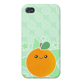 4 Orange Fruit Kawaii Case For iPhone 4
