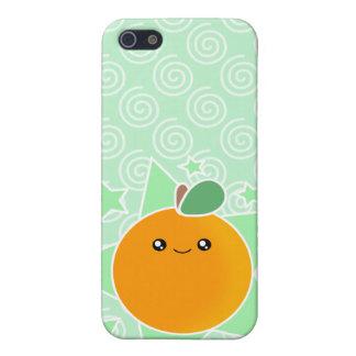 4 Orange Fruit Kawaii Case For iPhone 5