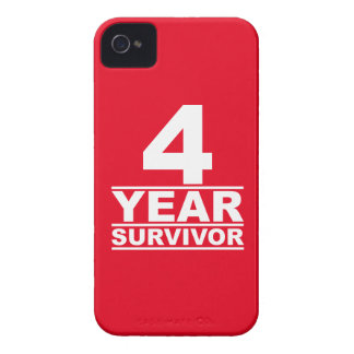 4 year survivor iPhone 4 cases