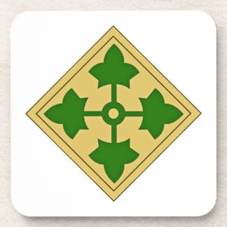 4th Infantry Division Coaster