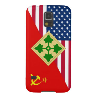 "4th Infantry Division ""Cold War"" Paint Scheme Galaxy S5 Case"