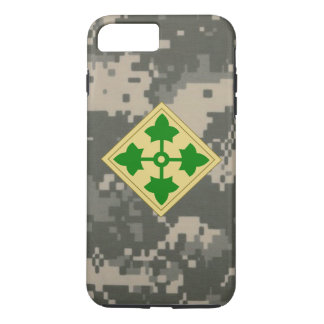 "4th Infantry Division ""Ivy Division"" Digital Camo iPhone 7 Plus Case"