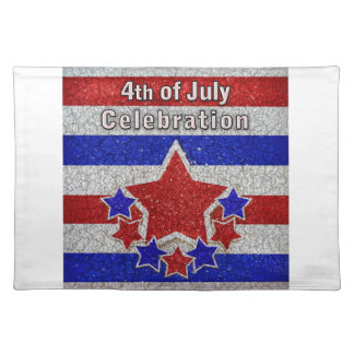 4th of July Celebration American MoJo Placemats