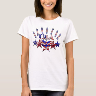 4th of July Crackers T-Shirt