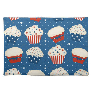 4th of July Cupcakes Placemat