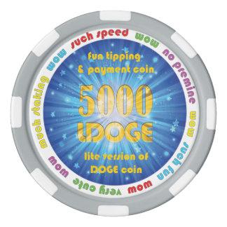 5000 LDOGE Poker Chip