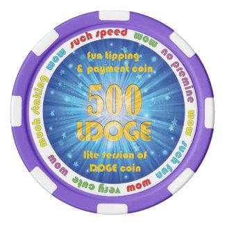 500 LDOGE Poker Chip