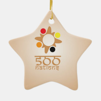 500 Nations Christmas Ornament