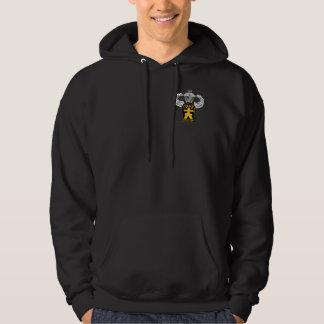 509th Airborne Veteran w/Jump Wings Hooded Sweatshirts
