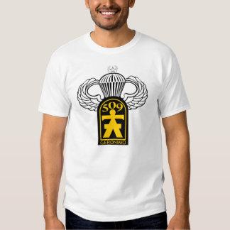 509th Airborne Veteran w/ Jump Wings T Shirts