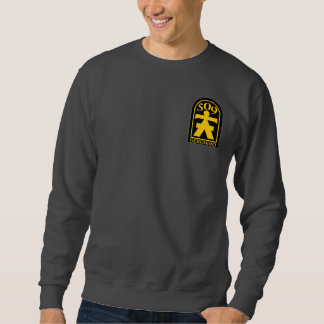509th PIR Geronimo Patch Pull Over Sweatshirts