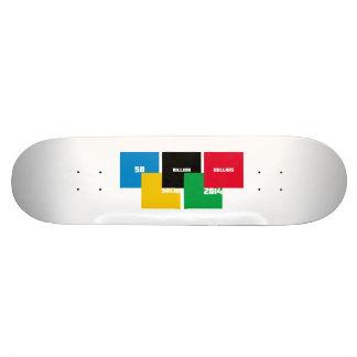 50 billion dollars skateboard deck