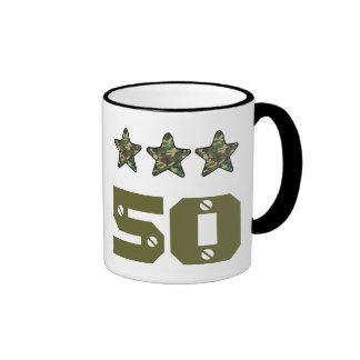 50 Birthday Gift or ANY AGE CAMO STARS V03A4 Mug