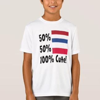 50% Dutch 50% Polish 100% Cute T-Shirt