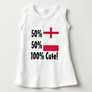 50% English 50% Polish 100% Cute Dress