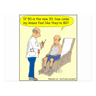 50 Is The New 30 Cartoon Post Cards