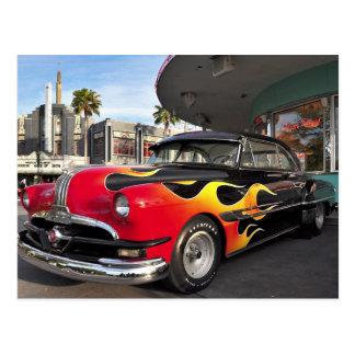50's Hotrod! Postcard