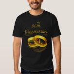 50th Anniversary | Gold Script T-shirts