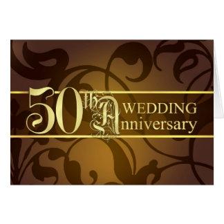 50th Anniversary Invitations - Folded Cards