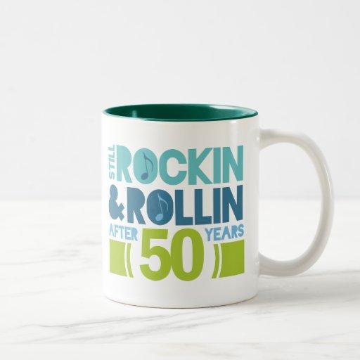 50th Anniversary Wedding Gift Coffee Mug