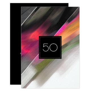 50th Birthday Celebration Custom Invitations
