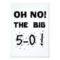 """50th Birthday"" Invitations"