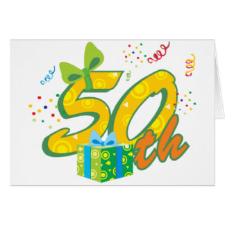 50th Birthday Note Cards