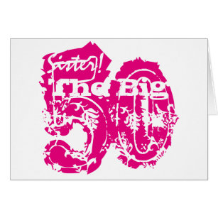 Sister 50th birthday card choice image birthday cake decoration ideas sisters 50th birthday cards invitations zazzle 50th birthday sister pink text on white card searchgroupfo bookmarktalkfo Image collections