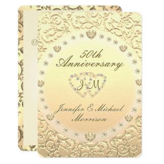 50th Golden Anniversary Card