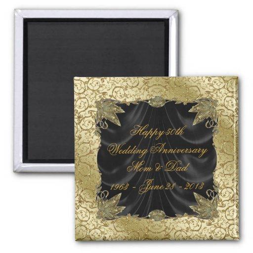 50th Wedding Anniversary Magnet Fridge Magnet