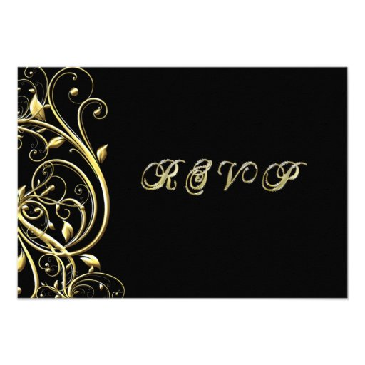50th Wedding Anniversary RSVP Personalized Invites