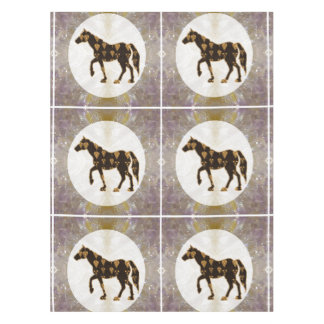 "52""x70"" tablecloth Horse Race Polo game Animal pet"