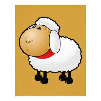 54-Free-Cartoon-Sheep-Clipart-Illustration Custom Flyer