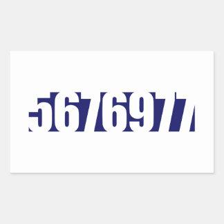5676977 - The Cure Rectangular Sticker