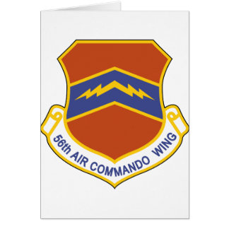 56th Air Commando Wing (ACW) Card