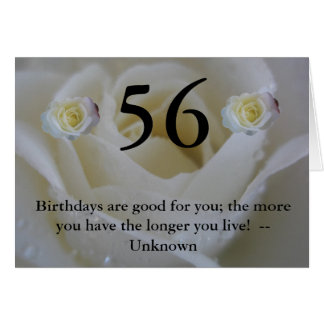 56th Birthday Card