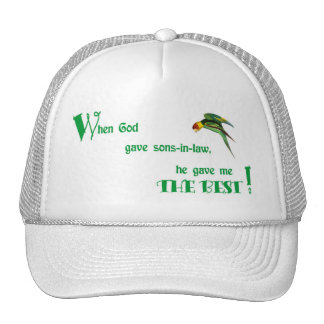 57When God Gave Sons-in-law Cap